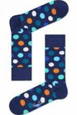 Happy Socks Big Dot Sock in kleur donker jeans